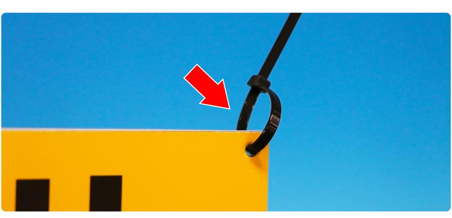 ヒアリ出没注意看板の設置方法